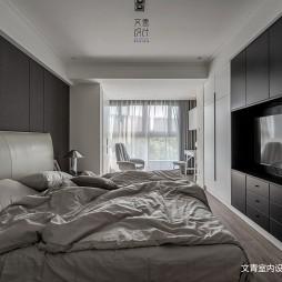 黑白现代卧室设计