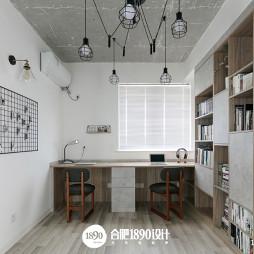 简洁北欧风格书房设计图片