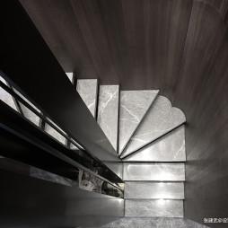 190㎡现代中式楼梯设计