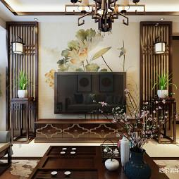 贝肯山 中式风格 120㎡ 华天雨润装饰 哈尔滨装饰公司_3250036