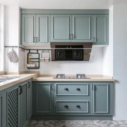 奢华美式厨房设计图