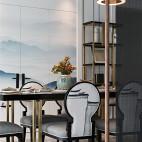 中式复式餐厅设计图片