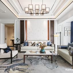 中式复式客厅设计