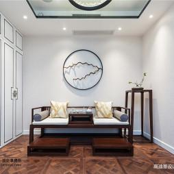 中式复式书房设计