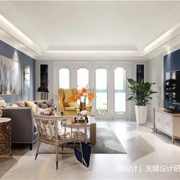简洁美式客厅设计图片