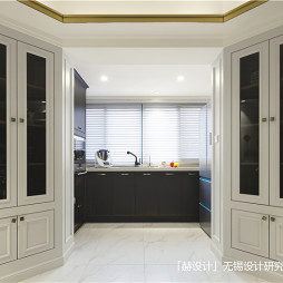 简洁美式厨房设计图