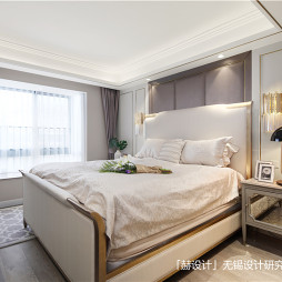 简洁美式卧室设计图