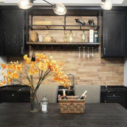 美式别墅厨房吊柜设计图