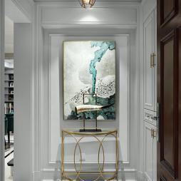 美式别墅玄关装饰设计