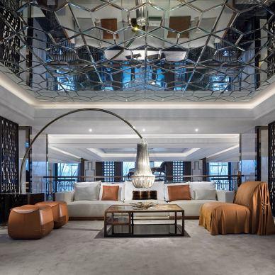 北京优山美地会所客厅设计图
