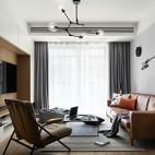 北欧风三居客厅设计实景