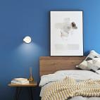 北欧风三居主卧壁灯设计图片