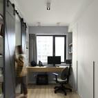 北欧风三居书房设计图片