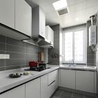 北欧风白色调厨房设计图