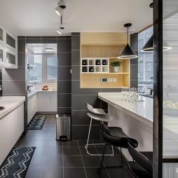96平北欧厨房设计图