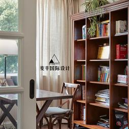 美式复式书房设计