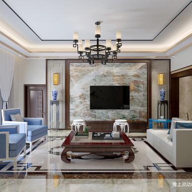 周口新中式别墅设计 灵动设计_3256359