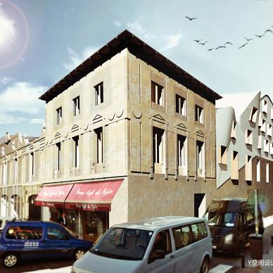 马德里酒店公寓改造_3257055