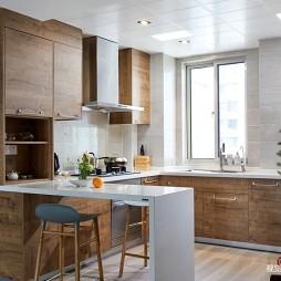 浪漫北欧风厨房设计图