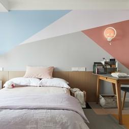 浪漫北欧风儿童房设计图