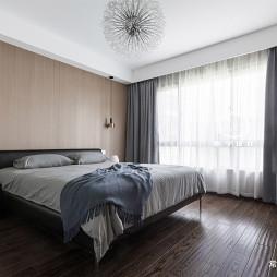 175㎡现代风卧室设计图