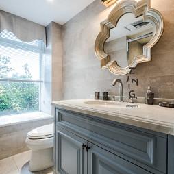 轻奢美式洗手台设计图