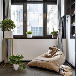 现代质感阳台设计图