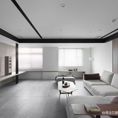 现代豪宅客厅设计实景图片