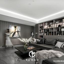 170㎡现代客厅设计图
