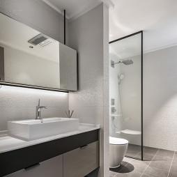170㎡现代卫浴设计图