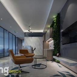深圳湾总部基地办公区接待区设计