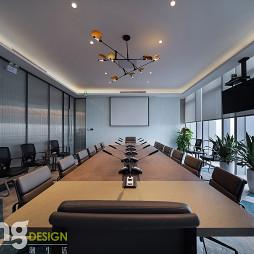 深圳湾总部基地办公区会议室设计
