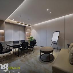 深圳湾总部基地办公区小型会议室设计