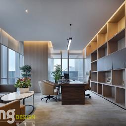 深圳湾总部基地总经理办公室设计图
