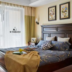 简雅美式卧室设计图