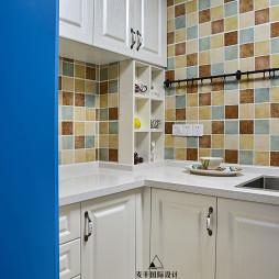 简雅美式厨房设计图