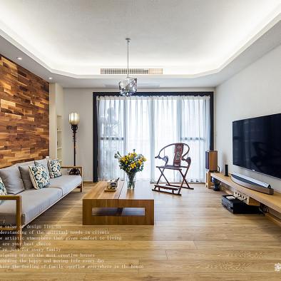 简白混搭客厅设计图片