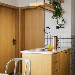 北欧厨房干区设计图