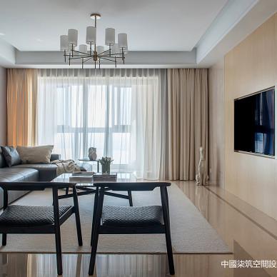 静谧优雅客厅设计图片