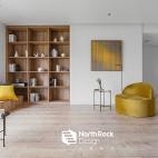 中式客厅书架设计图