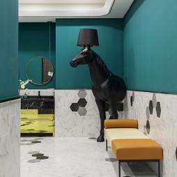 广州德家分公司星光映景办公室卫生间设计图