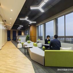 广州德家分公司星光映景洽谈区设计图