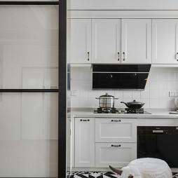 温馨混搭厨房设计图