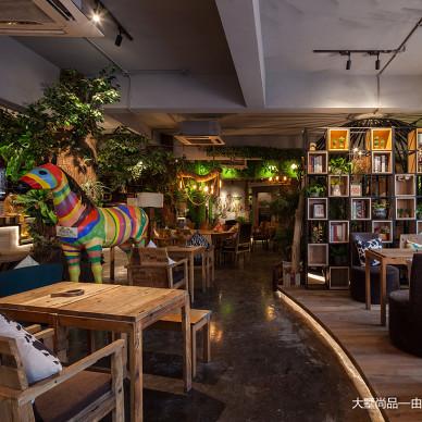700㎡自然主题咖啡厅·享自然森林之美_3269493