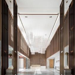 萬科金域國際售樓處大堂設計圖