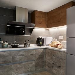 北歐四居廚房設計圖