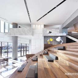 北京常營保利和錦薇棠銷售中心階梯設計圖