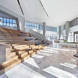 北京常營保利和錦薇棠銷售中心展示區設計圖