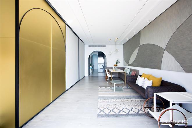 香港贝沙湾豪宅客厅实景图片