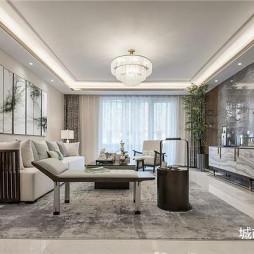 贵阳别墅装修—高端设计大户型中式风格装修案例_3274151